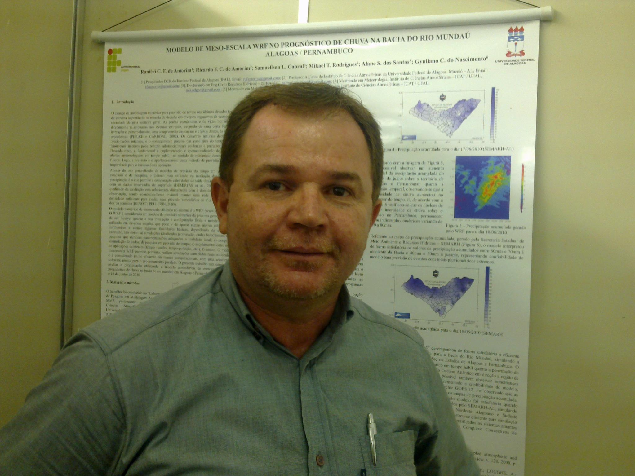 Disciplina: Oceanografia e Hidrometeorologia (doutorado em Agronomia (Energia na Agricultura) pela Universidade Estadual Paulista Júlio de Mesquita Filho (1999))