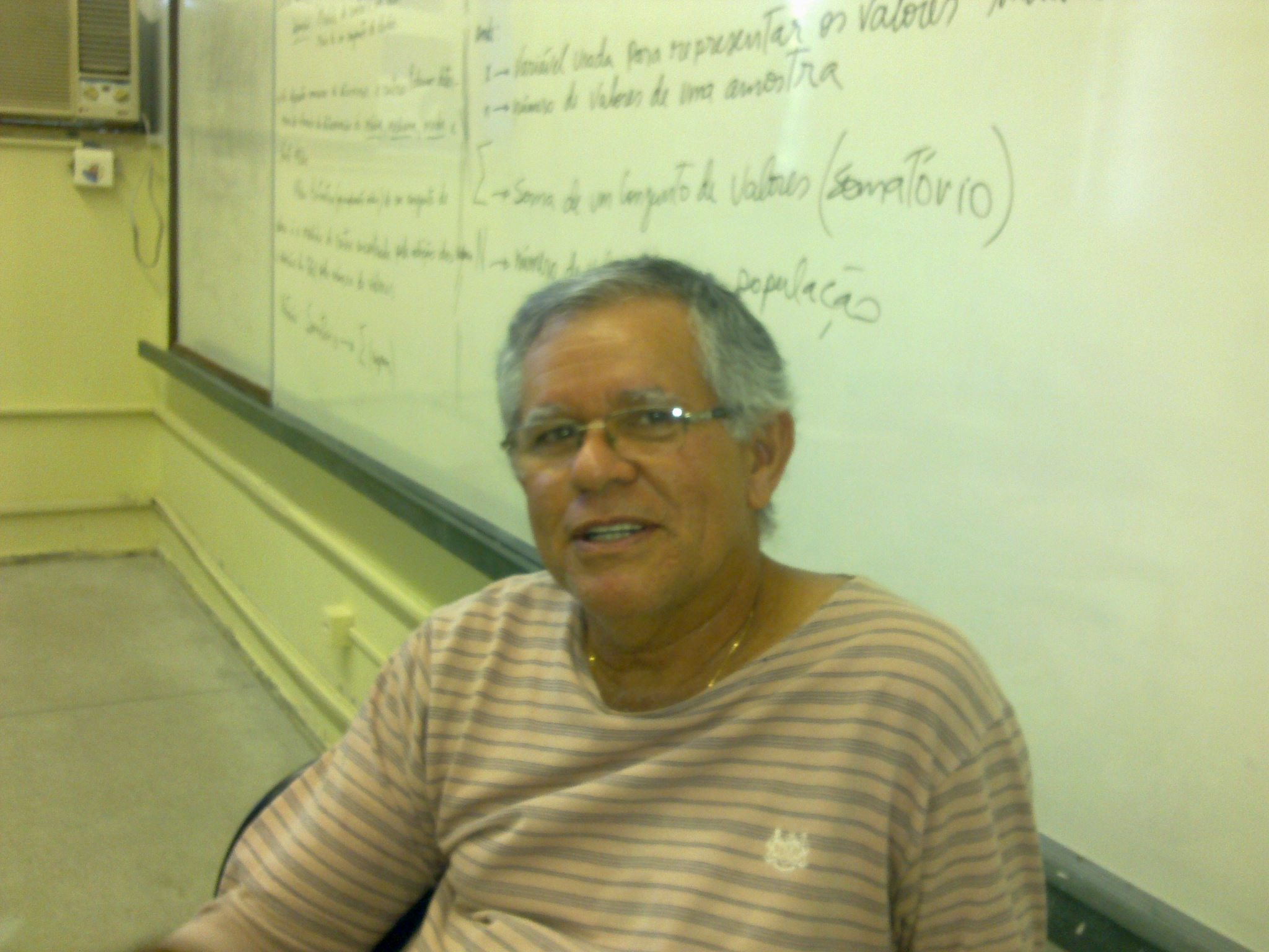 Disciplinas: Biometeorologia e Estatística I para meteorologistas (Mestrado em Meteorologia pela Universidade Federal de Alagoas)