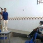 Escola recebe professores do ICAT para apresentação do curso de Meteorologia